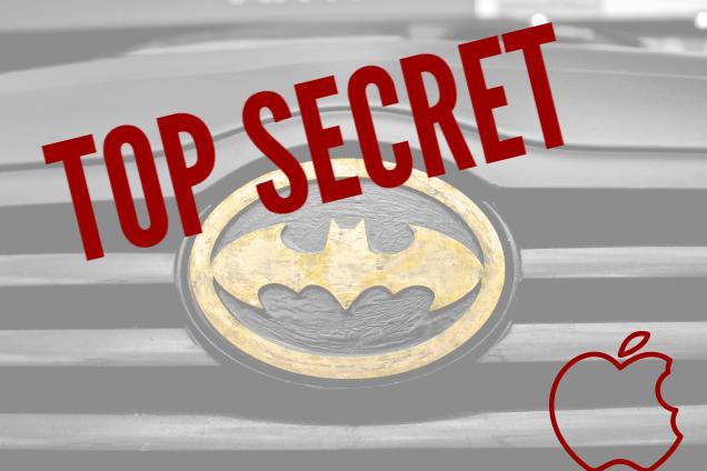 TOP Secret project de voiture d´Apple